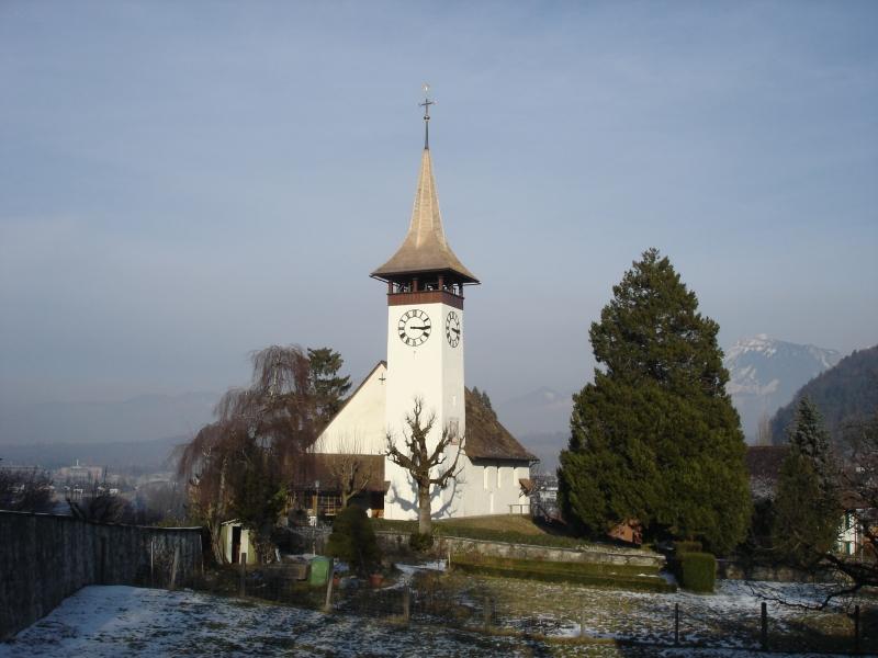 Kirchturm, Wimmis