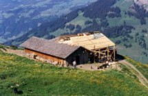 Berghütte Pörisalp, Lenk